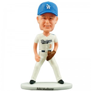 personalised old man baseball bobblehead