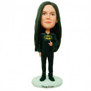 personalized bat girl bobblehead
