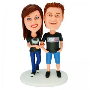 personalized couple bobblehead dolls
