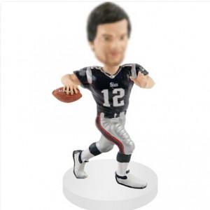 personalized quarterbacks football bobblehead dolls