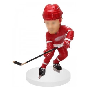 personalized right handed shooting hockey bobblehead