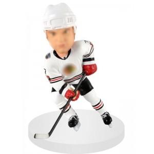 right handed forward customized hockey bobble head
