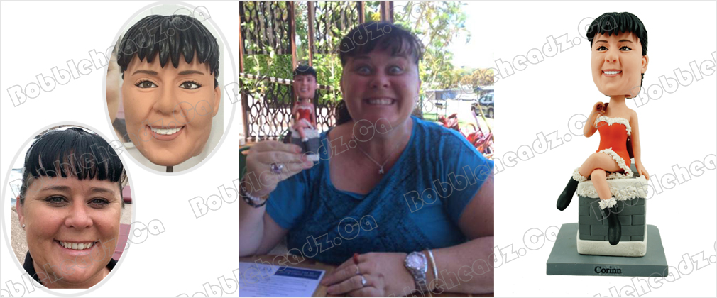 Custom bobblehead testimonials from Joanne Bosevski